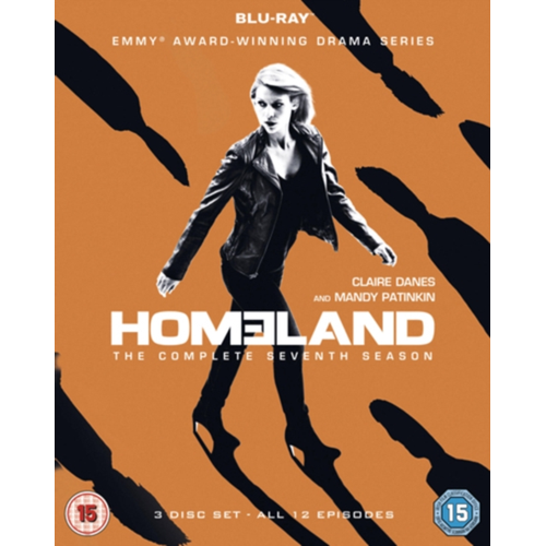 Homeland: The Complete Seventh Season (UK-import) (BLU-RAY)