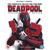 Deadpool 1 & 2 (UK-import) (BLU-RAY)
