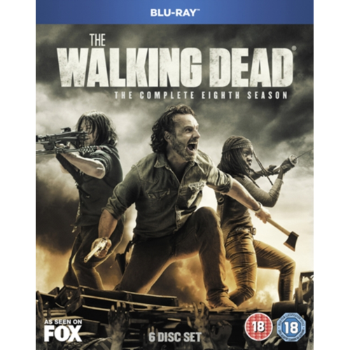 Walking Dead: The Complete Eighth Season (UK-import) (BLU-RAY)