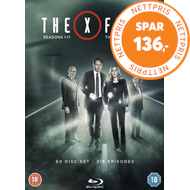 The X Files: The Complete Series (UK-import) (BLU-RAY)