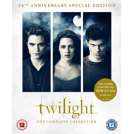 Produktbilde for The Twilight Saga: The Complete Collection (UK-import) (BLU-RAY)