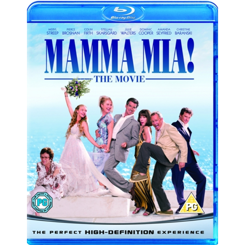Mamma Mia! (UK-import) (BLU-RAY)