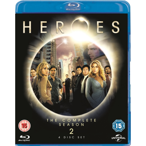 Heroes: Season 2 (UK-import) (BLU-RAY)