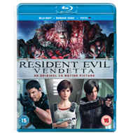 Resident Evil: Vendetta (UK-import) (BLU-RAY)