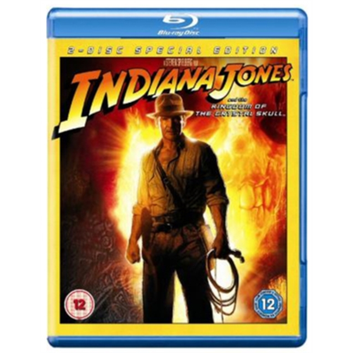 Indiana Jones And The Kingdom Of The Crystal Skull (UK-import) (BLU-RAY)