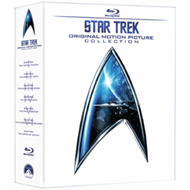 Produktbilde for Star Trek: The Movies 1-6 (UK-import) (BLU-RAY)
