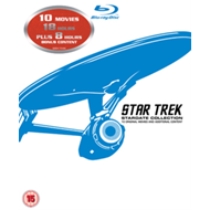 Produktbilde for Star Trek: The Movies 1-10 (UK-import) (BLU-RAY)