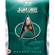 Star Trek The Next Generation: The Complete Season 4 (UK-import) (BLU-RAY)