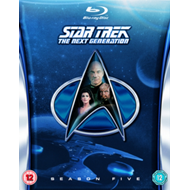 Produktbilde for Star Trek The Next Generation: The Complete Season 5 (UK-import) (BLU-RAY)