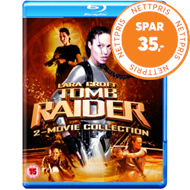 Produktbilde for Lara Croft - Tomb Raider: 2-Movie Collection (UK-import) (BLU-RAY)