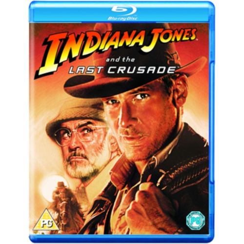 Indiana Jones And The Last Crusade (UK-import) (BLU-RAY)