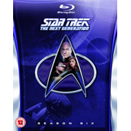 Star Trek The Next Generation: The Complete Season 6 (UK-import) (BLU-RAY)