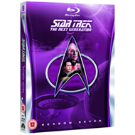 Produktbilde for Star Trek The Next Generation: The Complete Season 7 (UK-import) (BLU-RAY)