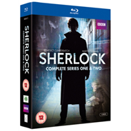 Produktbilde for Sherlock: Complete Series One & Two (UK-import) (BLU-RAY)