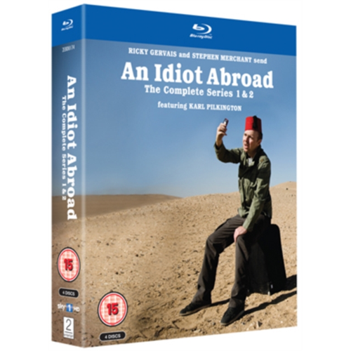 Idiot Abroad: Series 1 And 2 (UK-import) (BLU-RAY)