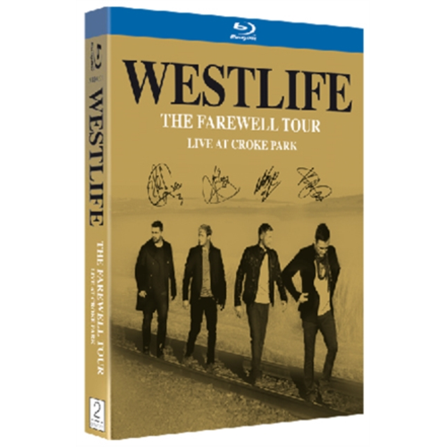 Westlife: The Farewell Concert - Live From Croke Park (UK-import) (BLU-RAY)