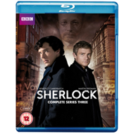 Produktbilde for Sherlock: Complete Series Three (UK-import) (BLU-RAY)