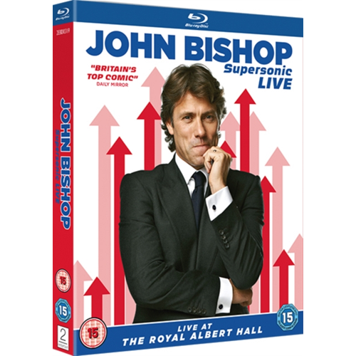 John Bishop: Supersonic Live At The Royal Albert Hall (UK-import) (BLU-RAY)