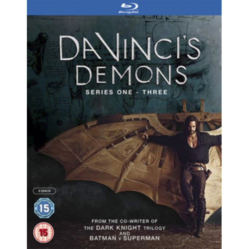 Da Vinci's Demons: Series 1-3 (UK-import) (BLU-RAY)