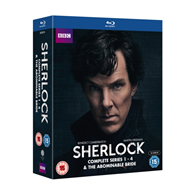 Sherlock: Complete Series 1-4 & The Abominable Bride (UK-import) (BLU-RAY)