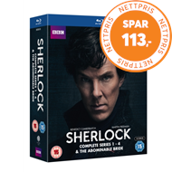 Produktbilde for Sherlock: Complete Series 1-4 & The Abominable Bride (UK-import) (BLU-RAY)