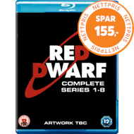 Produktbilde for Red Dwarf: Complete Series 1-8 (UK-import) (BLU-RAY)