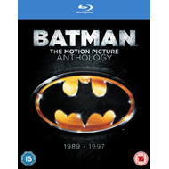 Produktbilde for Batman: The Motion Picture Anthology (UK-import) (BLU-RAY)