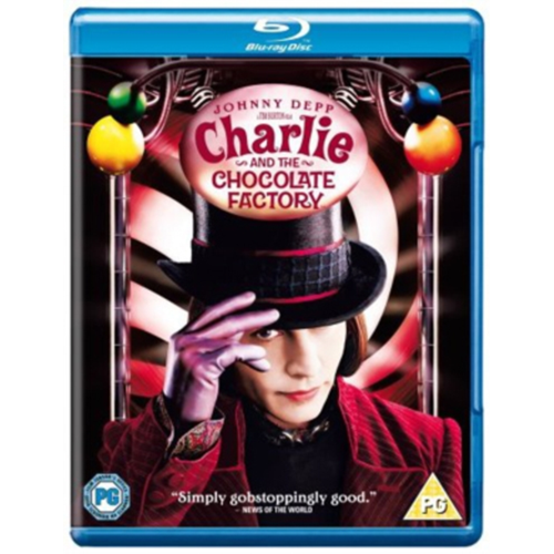 Charlie And The Chocolate Factory (UK-import) (BLU-RAY)
