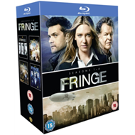 Fringe: Seasons 1-4 (UK-import) (BLU-RAY)