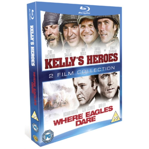 Kelly's Heroes/Where Eagles Dare (UK-import) (BLU-RAY)