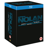 Produktbilde for Christopher Nolan Director's Collection (UK-import) (BLU-RAY)