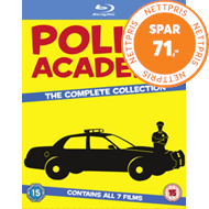 Produktbilde for Police Academy: The Complete Collection (UK-import) (BLU-RAY)