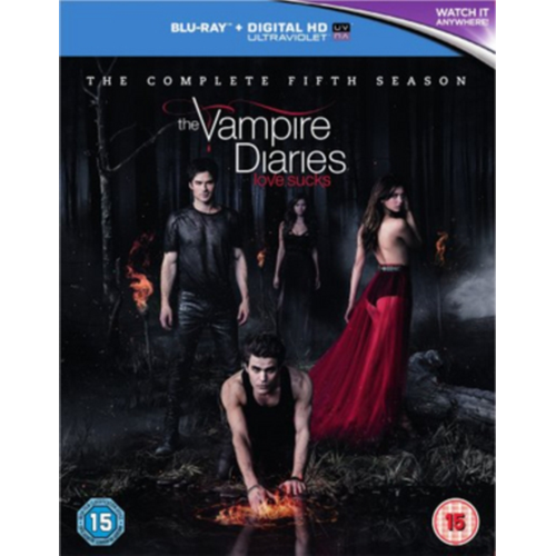 Vampire Diaries: The Complete Fifth Season (UK-import) (BLU-RAY)