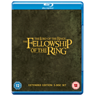 Produktbilde for The Lord Of The Rings: The Fellowship Of The Ring - Extended Cut (UK-import) (BLU-RAY)