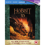 Produktbilde for The Hobbit: The Desolation Of Smaug - Extended Edition (UK-import) (Blu-ray 3D + Blu-ray)