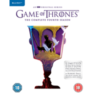 Produktbilde for Game Of Thrones: The Complete Fourth Season (UK-import) (BLU-RAY)