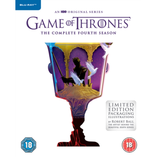 Game Of Thrones: The Complete Fourth Season (UK-import) (BLU-RAY)