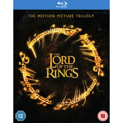 Lord Of The Rings Trilogy (UK-import) (BLU-RAY)