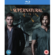 Supernatural: Seasons 1-9 (UK-import) (BLU-RAY)