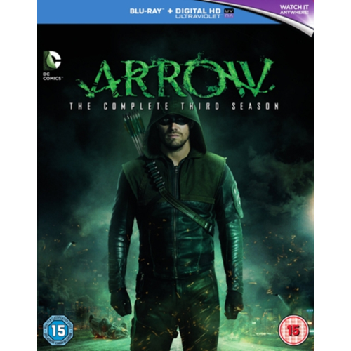 Arrow: The Complete Third Season (UK-import) (BLU-RAY)