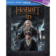 Produktbilde for The Hobbit: The Battle Of The Five Armies - Extended Edition (UK-import) (Blu-ray 3D + Blu-ray)