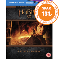 Produktbilde for The Hobbit: Trilogy - Extended Edition (UK-import) (Blu-ray 3D + Blu-ray)