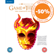 Produktbilde for Game Of Thrones: The Complete Fifth Season (UK-import) (BLU-RAY)