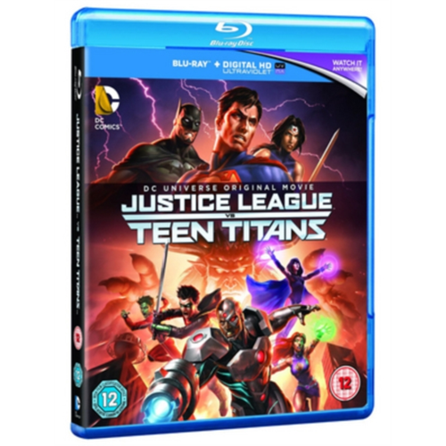 Justice League Vs. Teen Titans (UK-import) (BLU-RAY)