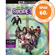 Produktbilde for Suicide Squad (UK-import) (4K Ultra HD + Blu-ray)