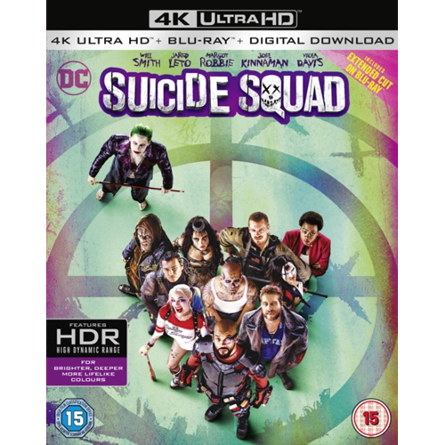 Suicide Squad (UK-import) (BLU-RAY)
