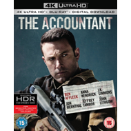 Produktbilde for The Accountant (UK-import) (4K Ultra HD + Blu-ray)