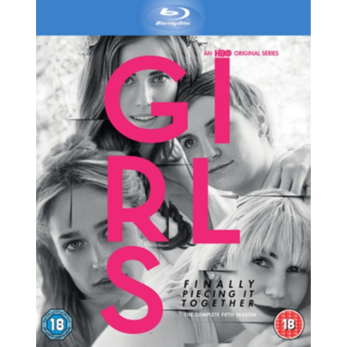 Girls: The Complete Fifth Season (UK-import) (BLU-RAY)