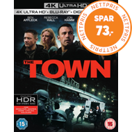 Produktbilde for The Town (UK-import) (4K Ultra HD + Blu-ray)