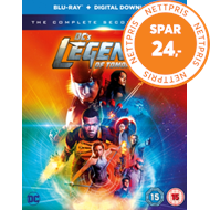 DC's Legends Of Tomorrow: The Complete Second Season (UK-import) (BLU-RAY)